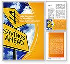 Financial/Accounting: 워드 템플릿 - 앞서 저장하기 #09294