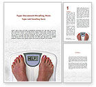 Sports: Weight Loss Help Word Template #09303