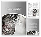 Medical: Human Anatomy Word Template #09337