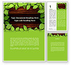 Nature & Environment: Forest Frame Word Template #09432