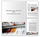 Careers/Industry: Printing House Word Template #09465