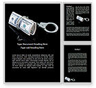 Financial/Accounting: Arrested Criminal Money Word Template #09466