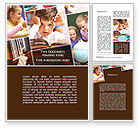 Education & Training: Elementary Education Word Template #09477