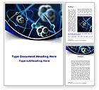 Technology, Science & Computers: Modèle Word de modèle atomique #09489