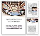 Careers/Industry: Warehouse Word Template #09492