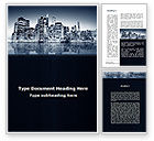 Construction: Chicago Shore Word Template #09493