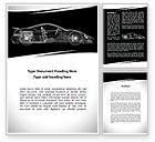 Cars/Transportation: Car Design Process Word Template #09524