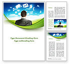 People: Cloud Services Word Template #09533