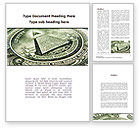 Financial/Accounting: Dollar's Print Word Template #09540