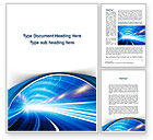 Telecommunication: Tunnel Movement Word Template #09567