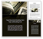 Financial/Accounting: One Hundred Dollars Print Word Template #09569
