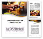 Financial/Accounting: Cashpoint Word Template #09589
