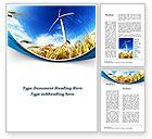 Nature & Environment: Modèle Word de agriculture respectueuse de l'environnement #09612