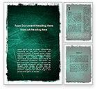 Abstract/Textures: Plantilla de Word - pintado de color verde oscuro #09635