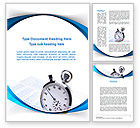 Consulting: Time Management Tool Word Template #09649