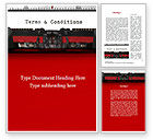 Legal: Terms And Conditions Word Template #09663