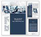 Sports: Gym Word Template #09670