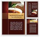 Food & Beverage: Stream Of Tea Word Template #09698