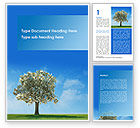 Nature & Environment: Money Tree At The Bright Sun Word Template #09716