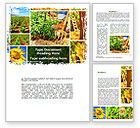 Agriculture and Animals: Farm Labor Word Template #09763