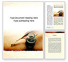 Education & Training: Poetry Word Template #09776