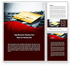 Financial/Accounting: Credit Card On the Keyboard Word Template #09783