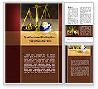 Legal: Earth For Sale Word Template #09795