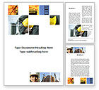 Utilities/Industrial: Those, Who Build The Cities Word Template #09825
