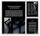 Consulting: Silhouette Of Naked Girl Word Template #09858
