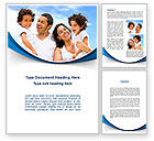 People: Lucky Latino Family Word Template #09861