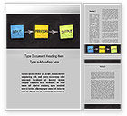 Business Concepts: Workflow Word Template #09870