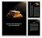 Education & Training: Blessed Book Of The Holy Scriptures Word Template #09889