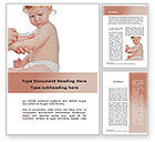 Medical: Childhood Vaccination Word Template #09934