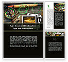 Holiday/Special Occasion: Fishing Tackle Word Template #09947