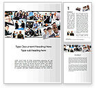 Business: Our Team Word Template #09982