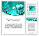 Medical: Tooth And Stomatology Instruments Word Template #10019