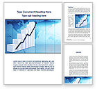 Financial/Accounting: Growth of Indicators Word Template #10037