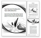 Construction: World of Tomorrow Word Template #10039