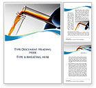 Technology, Science & Computers: Modèle Word de laboratoire de tests de tubes #10055