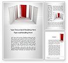 Consulting: Doorway Word Template #10066