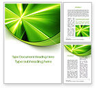 Abstract/Textures: Abstract Green Sparkles Word Template #10082