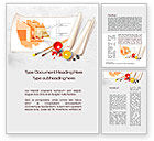Careers/Industry: Interior Design Sketch Word Template #10092