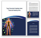 Medical: Human Immune System Word Template #10098