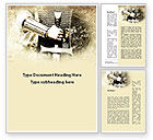 Education & Training: Knight Sword Word Template #10119
