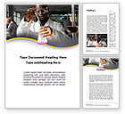 Education & Training: Chemical Engineering Word Template #10142