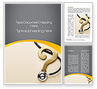 Medical: Diagnosis Word Template #10157