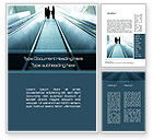 Business: Moving Staircase Word Template #10168