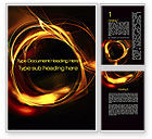 Abstract/Textures: Circle of Fire Word Template #10196