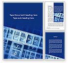 Careers/Industry: Countdown on Film Word Template #10204
