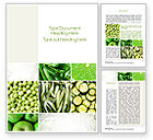 Agriculture and Animals: Green Vitamins Word Template #10240